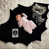Himom Batman 赤ちゃんのクロールブランケットパッド赤ちゃんゲームブランケットマットクッション写真赤ちゃんや子供のための小道具。