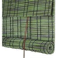 WUFENG カーテン 防水 防カビ PEプラスチック 中国語 ティーハウス バルコニー アウトドア ローラーブラインド 3色 23サイズ (色 : C, サイズ さいず : 135x175cm)