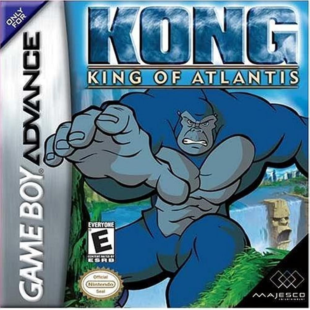 ぐったり速報バッジKong King of Atlantis - Game Boy Advance by Majesco [並行輸入品]