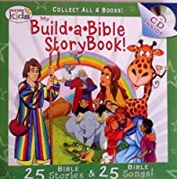 My Build A Bible Storybook! Disc 2- 25 Bible Stories, 25 Bible Songs on Included Music CD - By Wonder Kids by WonderKids