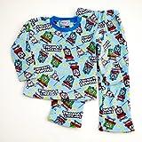 きかんしゃトーマス もこもこ長袖パジャマ 100-120cm(634TM107113) (100cm)