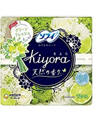 ソフィ Kiyora グリーンフレッシュの香り 72枚入