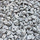 天然石 砕石砂利 1-2cm 100kg リリーホワイト (ガーデニングに最適 白色砂利)
