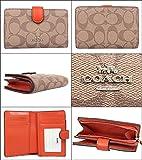 [コーチ] COACH 財布 (二つ折り財布) F23553 カーキ×オレンジレッド SVN3Z シグネチャー 二つ折り財布 レディース [アウトレット品] [並行輸入品]