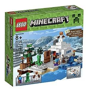 輸入レゴマインクラフト LEGO Minecraft 21120 the Snow Hideout Building Kit [並行輸入品]
