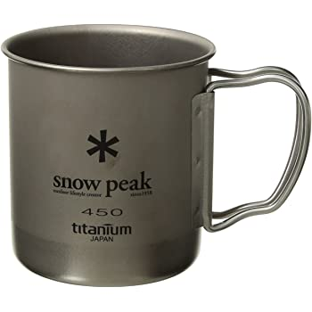 スノーピーク(snow peak) チタン シングルマグ 450 MG-043R