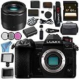 Panasonic Lumix DMC - dc-g9ミラーレスMicro Four Thirdsデジタルカメラ+ 64GB SDXCカードメモリバンドル, w/25MM 1.7, DC-G9-14