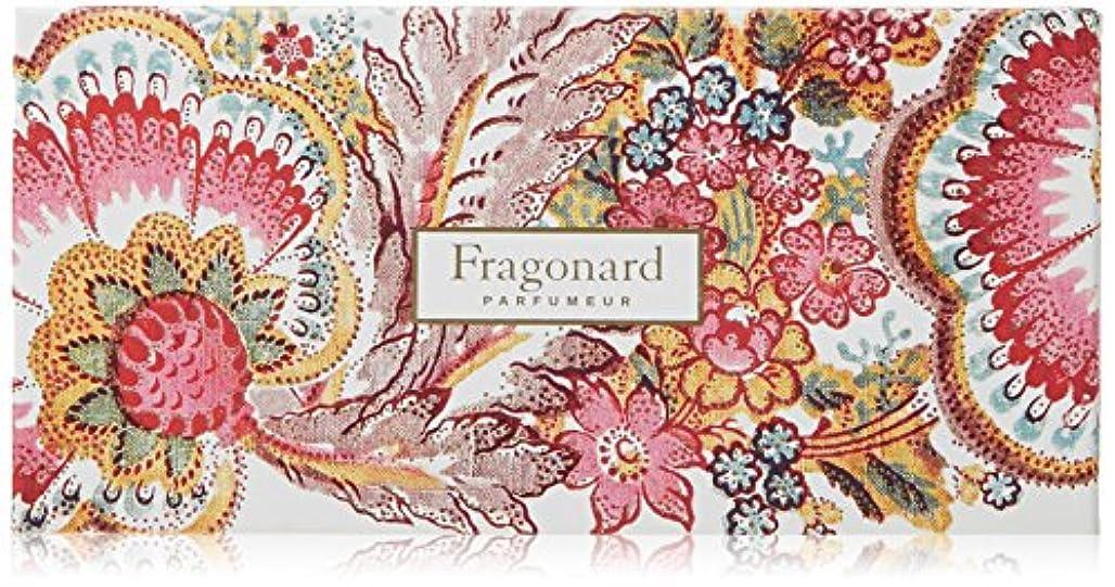 金曜日被害者指導するフラゴナール Fragonard フランス直輸入 石けん フルーリ 50g×4個