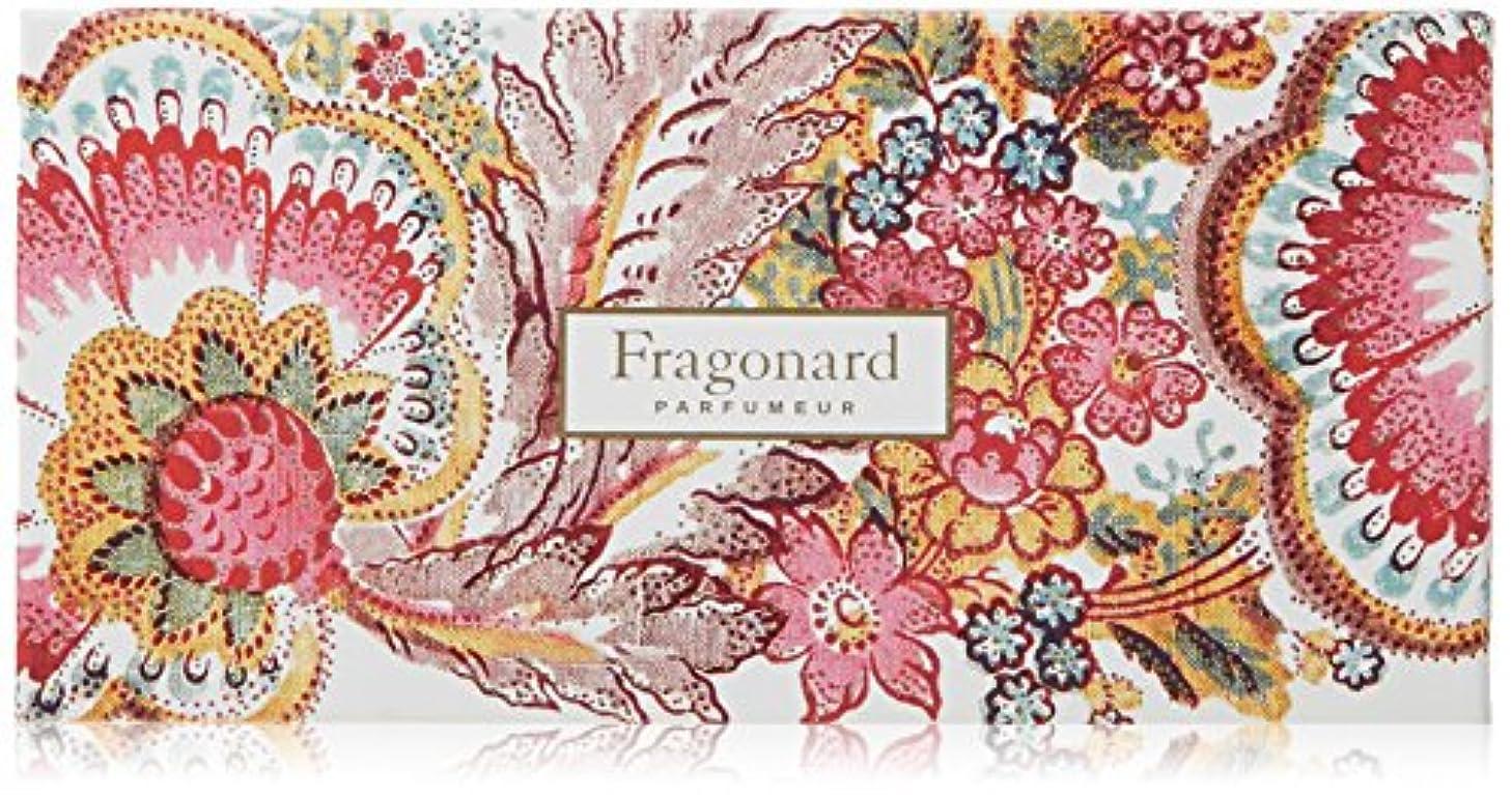 ゴルフりバイオリンフラゴナール Fragonard フランス直輸入 石けん フルーリ 50g×4個