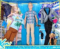 Barbie's Ken Exclusive Doll & California Fashion Pack Set by Mattell [並行輸入品]