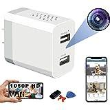 Hidden Spy Camera - WiFi Hidden Cameras - Hidden Camera with Live Feed WiFi - Spy Cameras - Home Mini Nanny Cam Hidden Camera