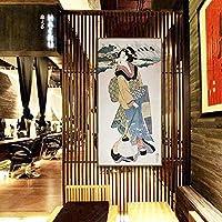 パーソナリティキャンバスアートプリントウォールアートワーク絵画の装飾食べる果物リビングルームのベッドルームレストラン額縁の準備にハング さまざまな装飾スタイルに適応 (色 : 03, サイズ : 43x83cm)