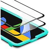 ESR Pixel4a フィルム Google Pixel 4a ガラスフィルム (5Gモデル非対応) [端から端までカバー] [傷や圧力に強い] [気泡なし] [ケースとの相性抜群] 2枚入り