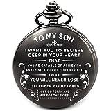 彼の息子のための卒業ギフト - 父の日 クリスマスプレゼント 息子のための ブラック、アラビア数字