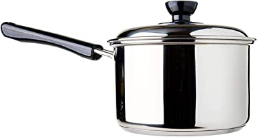 Dolphin Collection Stainless Steel Saucepan, 2.11L (Sandwich Base)