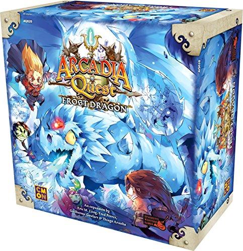 Cmon Arcadia Quest Frostドラゴンボードゲーム