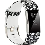 honecumi Bands Compatible with Fitbit Charge 2 Wristbands Strap for Men & Women Colorful Watch Band/Strap/Bracelet Accessory