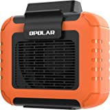OPOLAR Portable Mini Waist Clip Fan, 6200RPM 7.5m/s Airflow, 6000mAh Battery Operated Personal Necklace Fan, 15.5H Work Time,