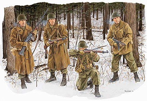 1/35 WW.II アメリカ陸軍 第101空挺師団兵 冬季装備  バストーニュ1944  DR6163  ドラゴンモデル  DR6163 USArmy 101クウテイシダンヘイ トウキソウビ 1944  B