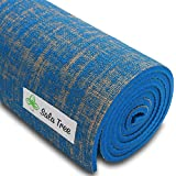 "Sala Tree: Serenity - Exclusive Natural Jute Yoga Mat, Extra Long 72"", Extra Thick 8 mm, Non Slip, for Any Type of Yoga, Pilates, or Exercises!"