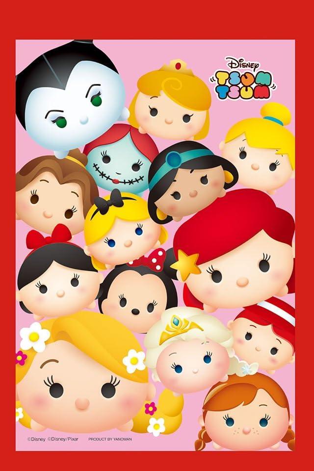 ディズニー ツムツムヒロインズ iPhone(640×960)壁紙 画像50711 スマポ