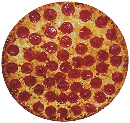 Pepperoni Pizza Round Mouse Pad Delici...