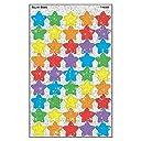 トレンド ごほうびシール キラキラ 星 180片 Trend superShapes Stickers Sparkle Super Stars T-46306