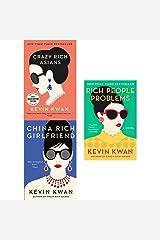 Kevin Kwan Crazy Rich Asians Trilogy Collection 3 Books Set Pack (Crazy Rich Asians, China Rich Girlfriend, Rich People Problems) Paperback