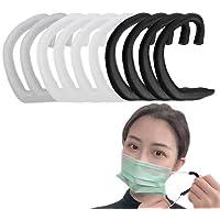 (10枚入) シリコンイヤーフック 拡張フック 耳が痛くない 補助道具 エクステンションフック 調節可能な 再利用可能…