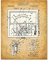 Electrical Meter 1919-11x14 Unframed Patent Print - Great Gift Electricians and Inventors [並行輸入品]
