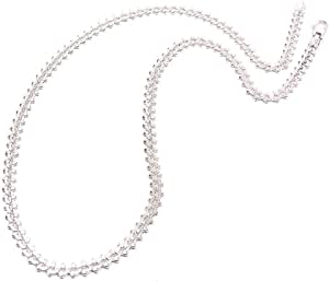 [サツルノ] SATURNO ネックレス メンズ シルバー925 丸型突起キヘイチェーン 50cm B01090-50 インポート