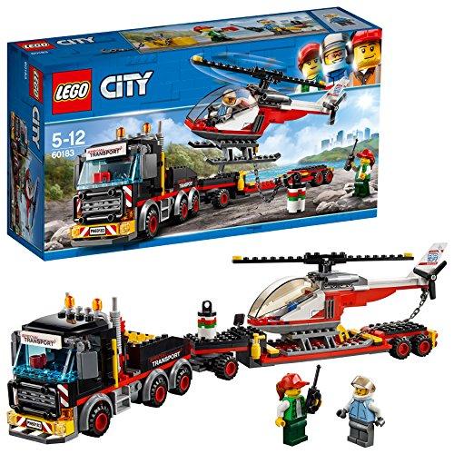 レゴ(LEGO) シティ 巨大貨物輸送車とヘリコプター 60...