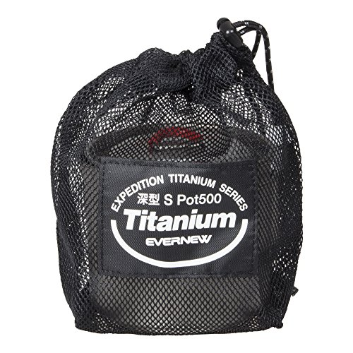 EVERNEW ECA266R Ti Ultralight Mug Pot 500ml Titanium from Japan