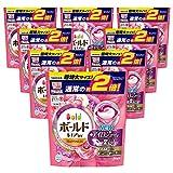 【ケース販売】 ボールド 洗濯洗剤 ジェルボール3D 癒しのプレミアムブロッサムの香り 詰め替え 超特大 34個入×8個