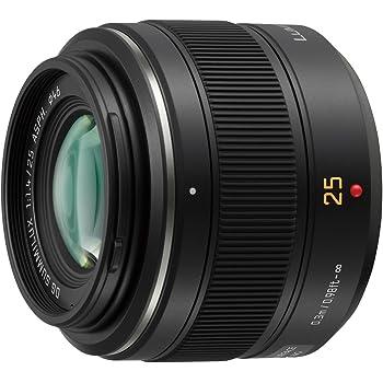 Panasonic 単焦点レンズ マイクロフォーサーズ用 ライカ DG SUMMILUX 25mm/F1.4 ASPH. ブラック H-X025