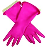 Casabella 46040 Premium Waterblock Gloves, Small, 1-Pair, Medium, Pink, 1