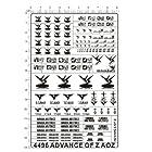 advance of z AOZ アドバンスオブゼータ メタルデカール
