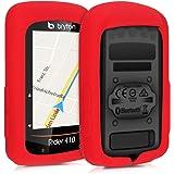kwmobile 対応: Bryton Rider 410 / 450 ケース - シリコン GPS サイクルコンピュータ カバー - 自転車 ナビ 保護ケース