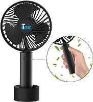 携帯扇風機 充電式 3段風量調節 大容量 2600mA 小型 手持ち可能 USB扇風機 オフィス アウトドア 静音運転 お手入れ簡単 熱中症対策 スタンド付き 卓上扇風機