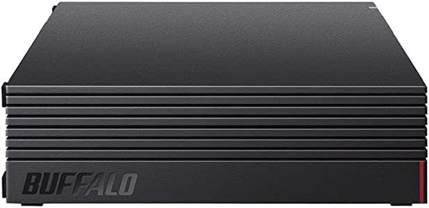 【Amazon.co.jp限定】BUFFALO 外付けハードディスク 4TB テレビ録画/PC/PS4/4K対応 静音&コンパクト 日本製 故障予測 みまもり合図 HD-AD4U3