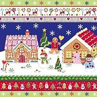 クリスマスナプキンMr。Ginger 's Home–33x 33cm–3Ply–by Paw