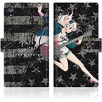 CaseMarket 【手帳型】 au Xperia Z3 SOL26 スリムケース [ すーぱーそに子 SUPERSONICO Like Teen Spirit - オリジナルカラー ] レザー手帳