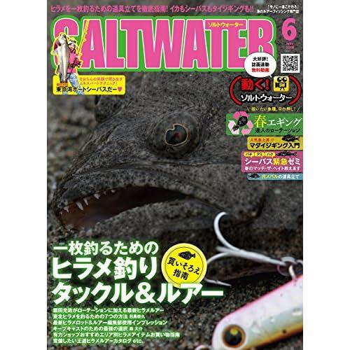 SALT WATER(ソルトウォーター) 2018年06月号