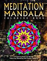 Meditation Mandala Coloring Book (Women Coloring Books for Adults)