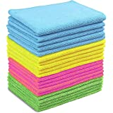 Microfibre Cloth   Microfibre Window Cleaning Cloth, Microfiber Cleaning Cloth 30cm x 40cm, 20 Pack, Car Microfibre Cleaning