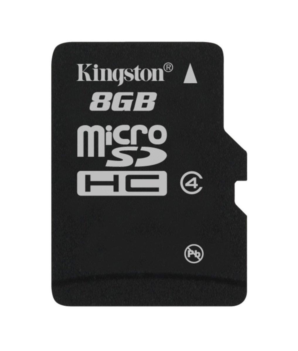 キングストン microSDHC カード 8GB クラス 4 カードのみ SDC4/8GBSP 永久保証