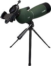 SVBONY フィールドスコープ 単眼望遠鏡15倍-45倍 50mm/ 20倍-60倍 60mm/ 25倍--75倍-70 mm 防水 三脚付き (25倍--75倍-70 mm)
