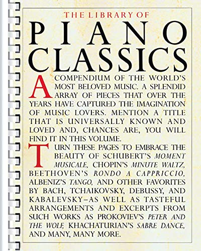 Library of Piano Cla...