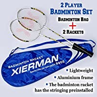 BenefitUSAスポーツ2 Player Badminton Racket Set
