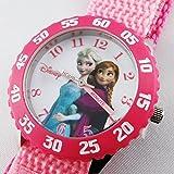 [ディズニー キッズ]Disney Kids 女の子 ガールズ アナと雪の女王 アナ エルサ ピンク W000969 腕時計 [並行輸入品]